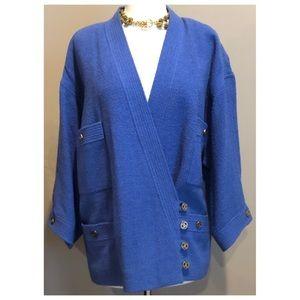 ✨Authentic Vintage CHANEL Wool Suit Jacket Blazer